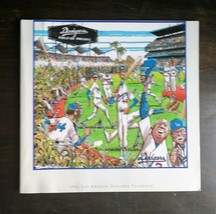 Vintage 1991 Los Angeles L.A. Dodgers MLB Baseball Official Yearbook  - $6.64