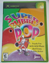 XBOX - SUPER BUBBLE POP (Complete with Manual) - $10.00