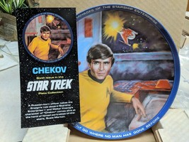 Star Trek 1983 Orig Series CHEKOV Ensign  Ltd Ed Plate  no. 4828 New Old... - $13.99