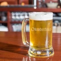 Oktoberfest Beer Glass, German Beer Mug - $15.00