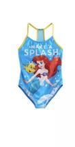 Disney's The Little Mermaid Girls Size 5-6 Ariel & Flounder Swimsuit New - $24.94