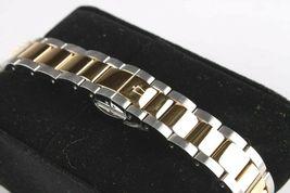 Bulova 22 Diamond Two-Tone Stainless Steel MOP Dial Ladies Watch 98R236 image 5