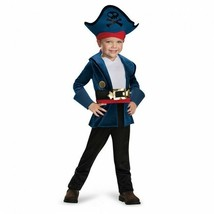Disguise Captain Jake Never Land Pirates Toddler Child Halloween Costume... - $24.99
