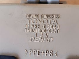 02-07 Toyota Sequoia Tow Towing Control Module 81985-0c040 image 5