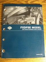 2009 Harley-Davidson FXDFSE Dyna CVO Fat Bob Parts Catalog Manual Xlnt 99430-09A - $48.51