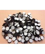 """Wholesale LOT 750 ROUND 1/2"""" Dot MAGNETS w/Self ADHESIVE backing-Light w... - $24.27"""