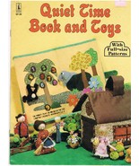 Vintage Quiet Time Book and Toys Craft Pattern ... - $9.95