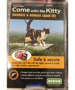 New PetSafe Come With Me Kitty Cat Harness Bungee Leash Medium Royal Blu... - $15.83