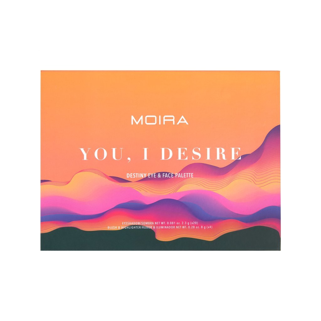 Moira Cosmetics You, I Desire Eye And Face Palette