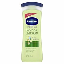 Vaseline Intensive Care hand and body lotion Soothing Hydration 10 oz, P... - $28.79