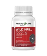 Healthy Care Wild Krill 1000mg 30 Capsules - $70.82