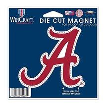 NCAA University of Alabama 12262115 Die Cut Magnet, Small, Black - €8,75 EUR
