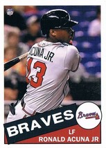 Ronald Acuna 1985 Topps Style - Aceo RP  - $2.00