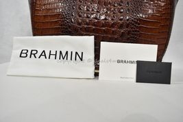 NWT Brahmin Thelma Tote / Shoulder Bag/Tote in Pecan Melbourne Embossed Leather image 8