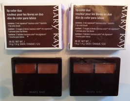 Mary Kay Lip Color Signature Luscious Duo Bronze/Amber #012749 NOS Lot of 2  - $23.05