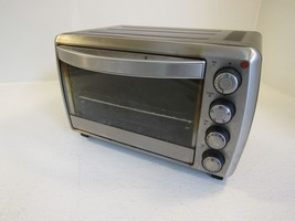 Oster Countertop Toaster Oven Stainless/Black 1200W TSSTTVCG01 - $64.28