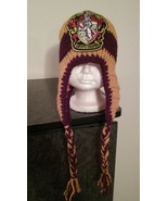 Harry Potter Inspired (Gryffindor) Handmade Crochet Hats/Kids - $20.00