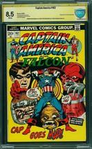 Captain America #162 (Marvel, 1969) CBCS 8.5 2x Sigs - $173.25