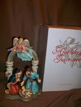 AVON HOLIDAY TREASURES 2002 CHRISTMAS NATIVITY HOLY FAMILY - $24.74