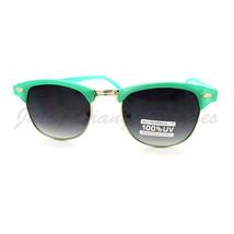 Womens Fashion Sunglasses Petite Half Round Rim Vintage Keyhole Frame - $7.95