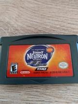 Nintendo Game Boy Advance GBA Nickelodeon Jimmy Neutron Boy Genius: Jet Fusion image 2
