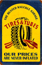 """BNG Tires & Tubes Metal Sign (24"""" by 16"""") - $45.00"""