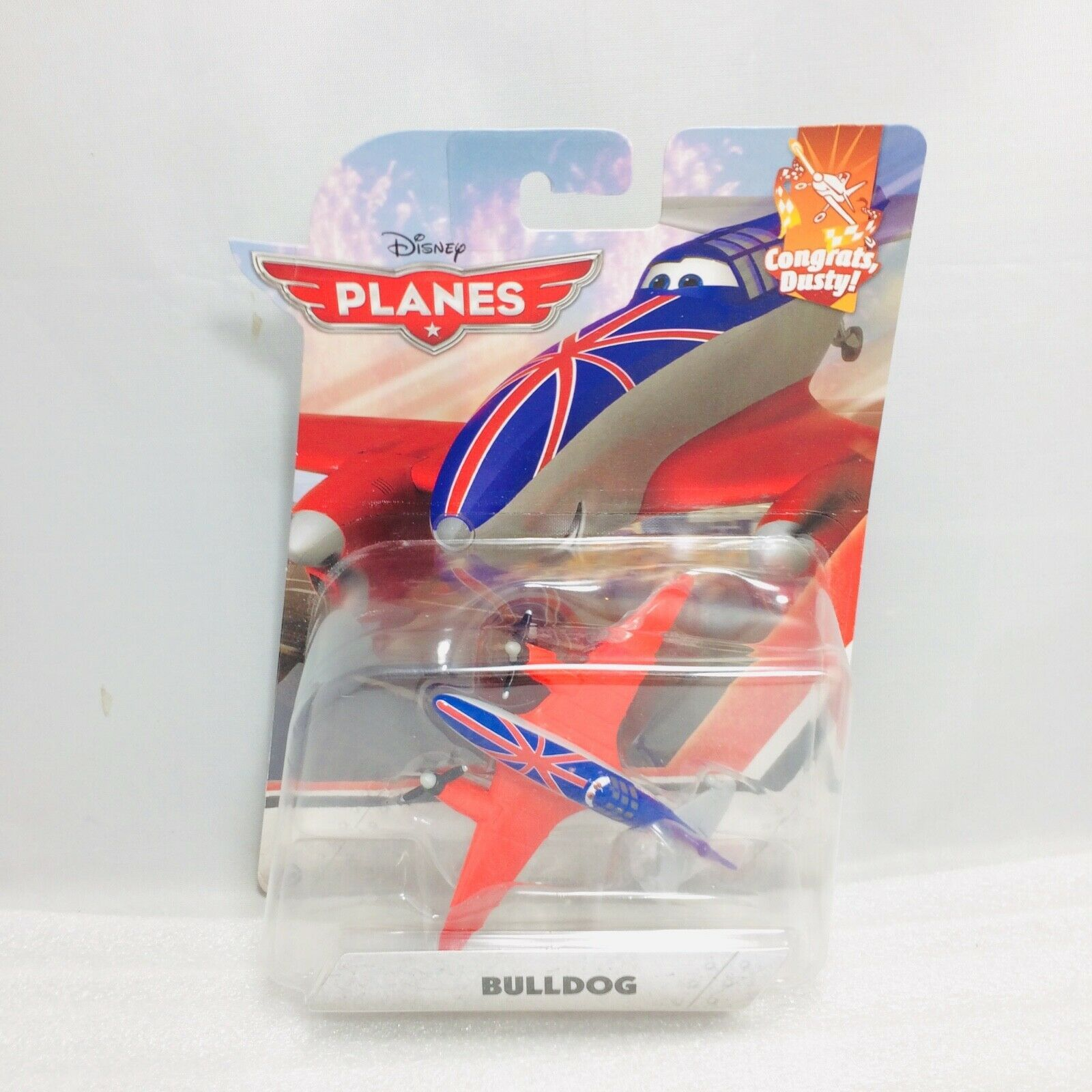 Disney Pixar Planes Bulldog New in Package - 2015 - Rare