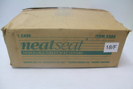 NeatSeat 3325 Disposable Toilet Seat Cover - 2,500 Cover Refills New - $24.99