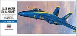 Hasegawa 1/72 United States Navy Blue Angels F/A- 18 A Hornet  Plastic Model D 1 - $36.00
