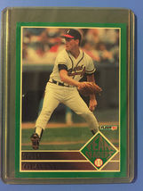 1992 Fleer Team Leaders TOM GLAVINE Baseball Card #11 - $1.49