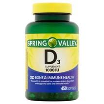 Spring Valley - Vitamin D-3 1000 IU, 450 Softgels - $16.58