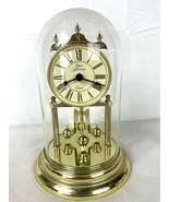 Elgin American Quartz Anniversary Clock with Glass Dome - $74.95