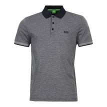 Hugo Boss Men's Luxury Cotton Polo Shirt T-shirt Regular Fit Paddos 50369736 410