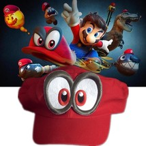 Nintendo Game Super Mario Odyssey Hat Adult Kids Anime Cosplay Cap Rare ... - $17.01
