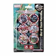 WizKids Marvel HeroClix Captain America and The Avengers Dice & Token Set - $11.59