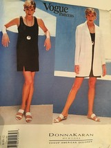 Vogue Sewing Pattern Donna Karan #1569 SZ  8-10-12 Dress & Jacket  Used - $20.00