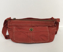 Fossil Brand Issue 1954 American Classic Orange Purse ~ Excellent condition - $29.70