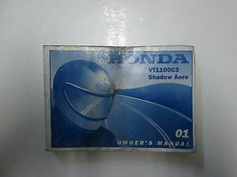 2001 Honda VT1100C3 Shadow Aero Owners Manual Water Damaged Stained Factory - $31.60
