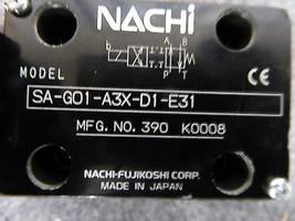 Nachi SA-G01-A3X-D1-E31 Directional Control Valve New image 2