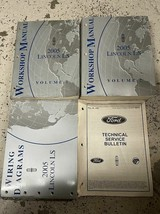 2005 ford lincoln ls l s workshop service repair manual set oem with etm... - $49.70