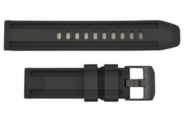 Genuine Luminox 4220 4240 23mm Black Watch Band Strap Anniversary Edition  - $74.95