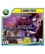 Big Fish, Fates Carnival PC Video Game, Mystery Case Files, 2 Games - $16.95
