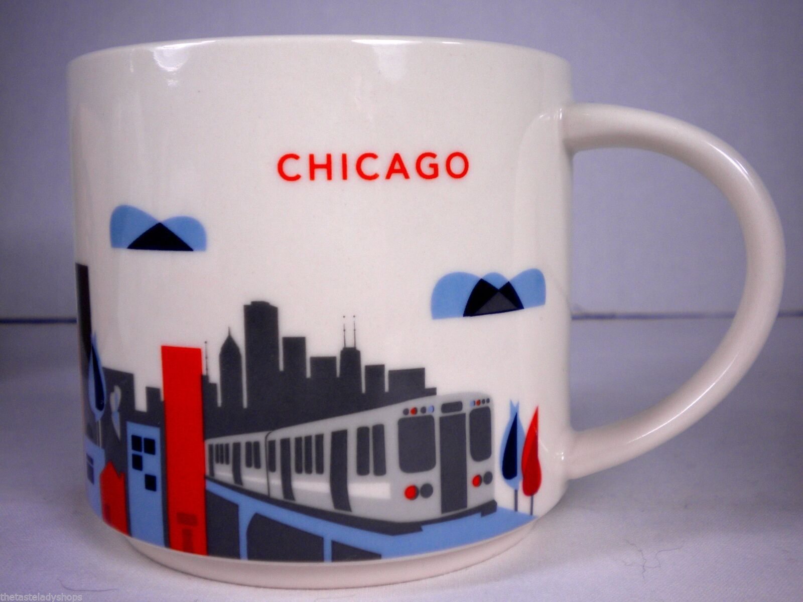Starbucks Chicago You Are Here Collection Mug Cup NEW in Box Skyline, L Train image 4
