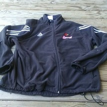 adidas Louisville Cardinals track and field - Men's Black Jacket (M) - Used - $14.79