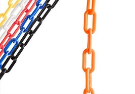 US Weight Chainboss Orange Plastic Safety Chain with Sun Shield UV Resis... - $28.25