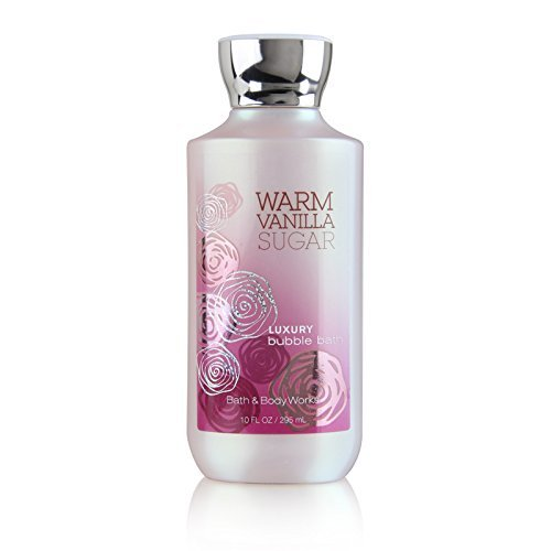 Bath & Body Works Warm Vanilla Sugar 10 oz Luxury Bubble Bath