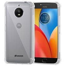 Amzer Pudding TPU X Protection Case - Crystal Clear for Motorola Moto E4 Plus - $10.84