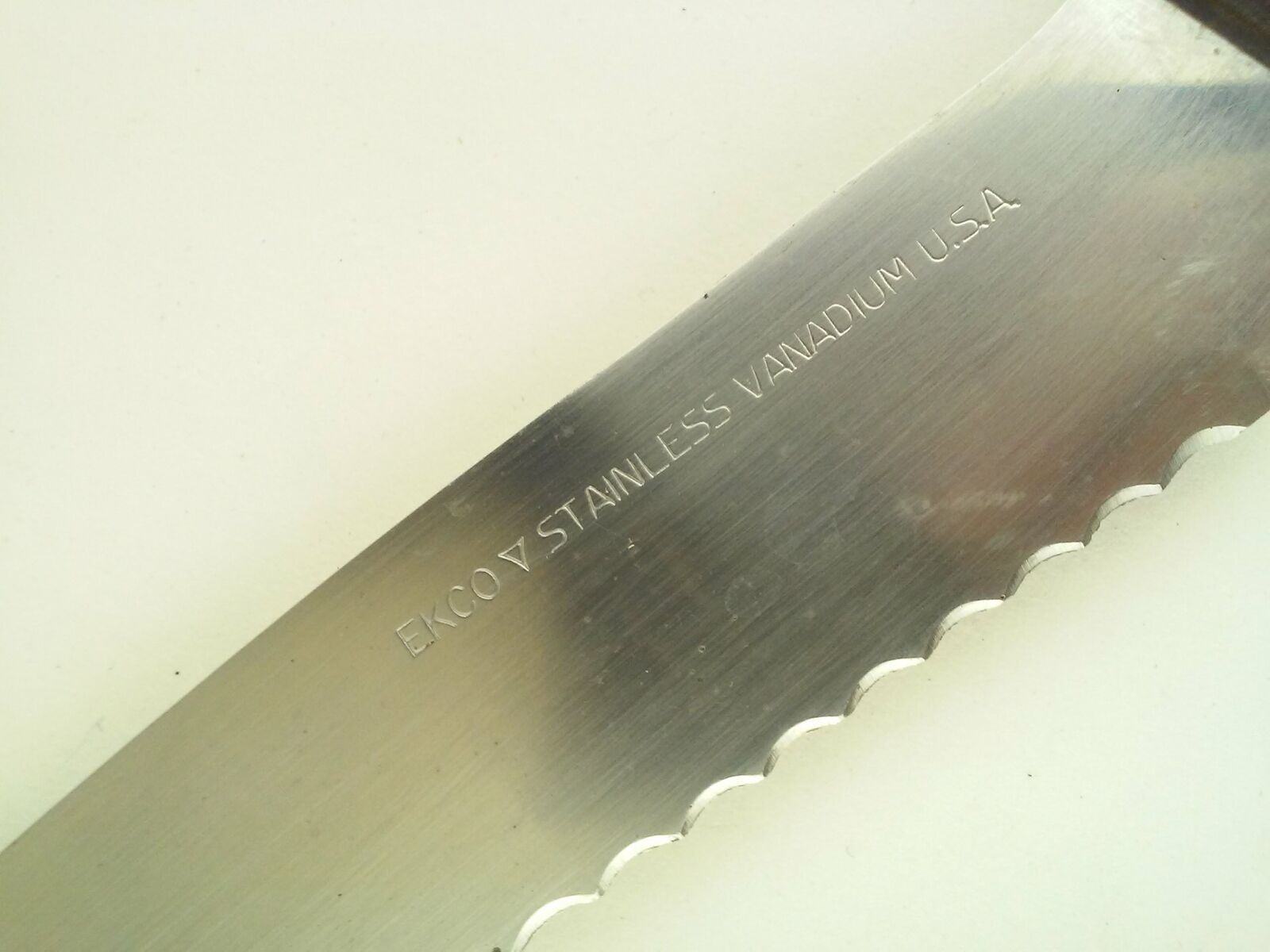 Ekco Offset Handle Stainless Vanadium Slicer Serving Cheese Knife