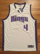 BNWT Authentic 2004 Reebok Sacramento Kings Chris Webber Home White Jers... - $199.99