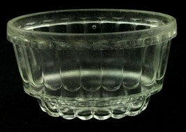 Antique EAPG Clear Flint Glass Pudding/Bread Mold - $9.89